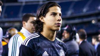 Diego Lainez, previo al juego amistoso entre México y Chile