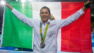 María Espinoza porta con orgullo los colores de México en Rió 2016