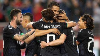 Diego Reyes festeja triunfo con la Selección Mexicana