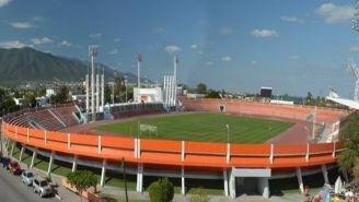 El estadio Marte R Gómez