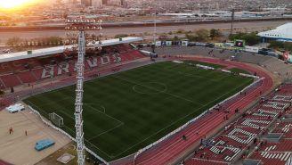 Panorámica del Estadio Olímpico Benito Juárez