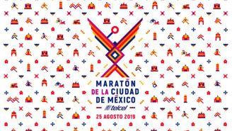 La imagen del Maratón de la Ciudad de México 2019
