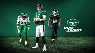 La nueva equipación de los Jets luce elegante