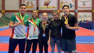 Participante de la delegación mexicana de taekwondo en Puerto Rico