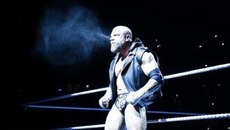 Triple H hace su entrada al ring