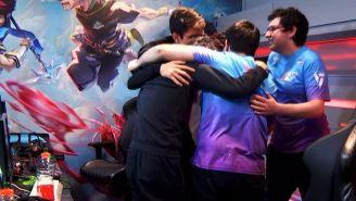 Los jugadores de Rainbow7 festejaron de forma efusiva tras el triunfo sobre Infinity