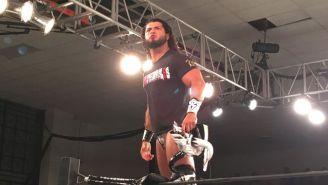 Rush hace su entrada en el ring