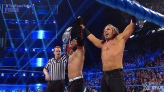 The Hardy Boyz festejan con los campeonatos