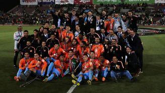Emanuel Aguilera festeja gol contra FC Juárez