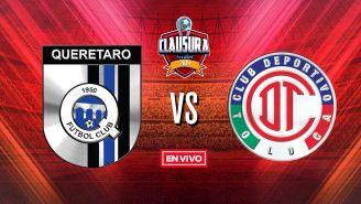 EN VIVO Y EN DIRECTO: Querétaro vs Toluca