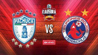 EN VIVO y EN DIRECTO: Pachuca vs Veracruz