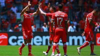 Toluca festeja victoria contra el Monterrey
