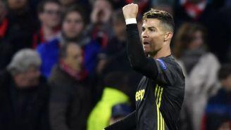 CR7 celebra un gol con la Juventus