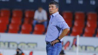 Robert Dante Siboldi durante un partido con Veracruz