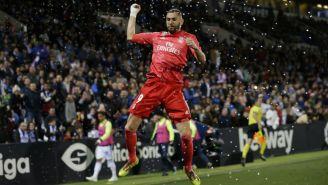 Benzemafesteja su gol del empate frente al Leganés