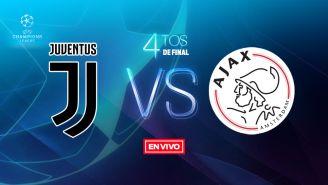 EN VIVO y EN DIRECTO: Juventus vs Ajax