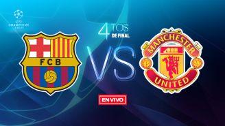 EN VIVO y EN DIRECTO: Barcelona vs Manchester United