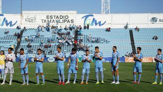 Tampico Madero antes de iniciar un partido