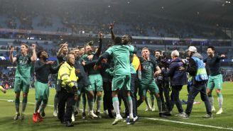 Tottenham celebra su pase a Semifinales de Champions League