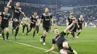 Ajax celebra pase a Semifinales de Champions