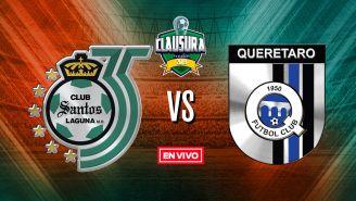 EN VIVO y EN DIRECTO: Santos vs Querétaro