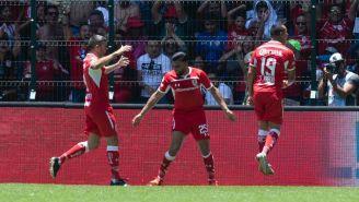 Toluca celebra victoria frente al América