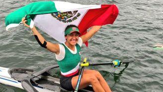 Lechuga levanta la bandera de México