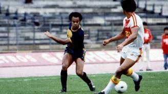 'La Cobra' Muñante durante un partido con Pumas