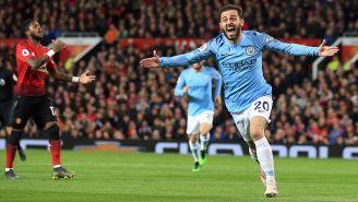 Bernardo Silva grita el primer gol del partido
