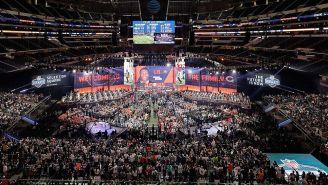 El escenario del Draft de la NFL