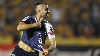 Así celebró Nico Sánchez su gol contra Tigres en Final de Concacaf