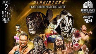 Así luce el cartel para Gladiators