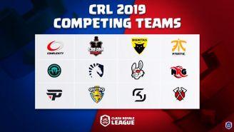 Estos son los 12 equipos que competirán en la Clash Royale League
