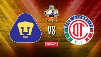 EN VIVO y EN DIRECTO: Pumas vs Toluca