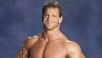 Chris Benoit en sesión fotográfica