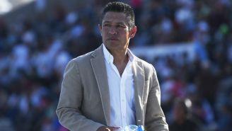 Nacho Ambriz, entrenador del León