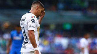 Malcorra se lamenta en juego contra Cruz Azul