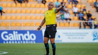 Andrés Esquivel en un partido del Ascenso MX
