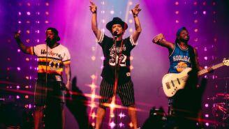 Bruno Mars durante una presentación