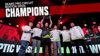 OpTic Gaming levanta su título 13 del Gears Pro Circuit