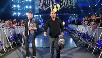 The Hardy Boyz hacen su entrada al ring