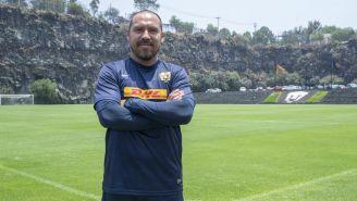 Carlos Humberto González, entrenador de Pumas Premier
