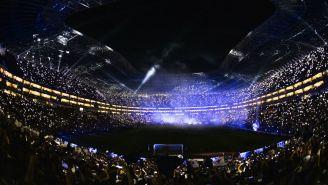 Estadio BBVA Bancomer, previo a la Final de la Concachampions