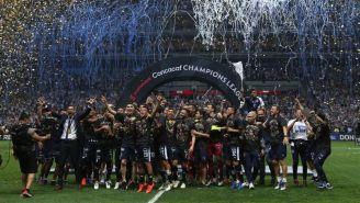 Rayados festeja Campeonato en Concachampions