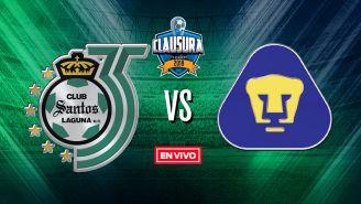EN VIVO y EN DIRECTO: Santos vs Pumas
