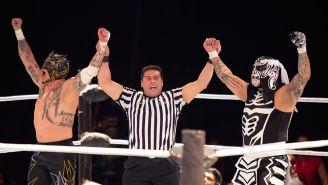 Los Lucha Brothers festejan su triunfo en Gladiators
