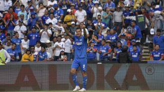 Caraglio celebra anotación con el Cruz Azul