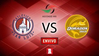 EN VIVO y EN DIRECTO: Atlético San Luis vs Dorados