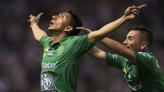 Mena festeja uno de sus 14 goles durante la presente campaña