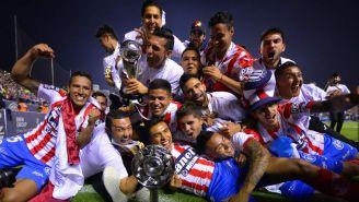 Atlético de San Luis festeja el Título de la Liga de Plata